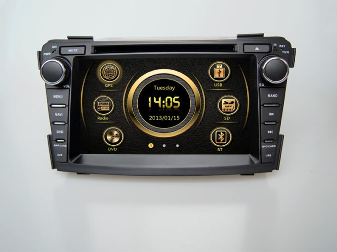 Sobbalzi il player multimediale dell'automobile DVD GPS del sistema 2din con Bluetooth 3g per Hyundai i40