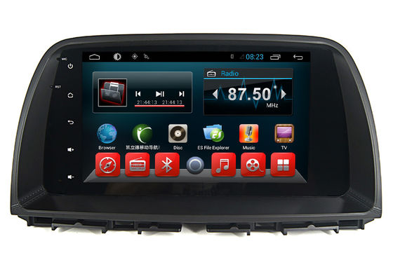 Porcellana Sistema radio centrale dell'automobile DVD Multimidia GPS di baccano di Mazda 2 per il touch screen di androide CX-5 fornitore